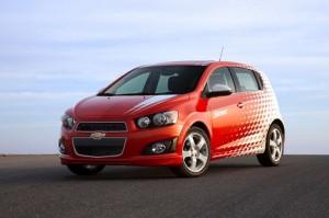 2012 Chevrolet Sonic. © General Motors