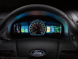 Ford 2012 Fusion Hybrid Gauges