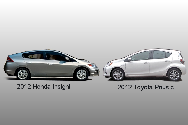 Honda Insight Vs. Prius C