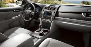2012 Camry Hybrid XLE interior