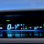 Prius v gauge display