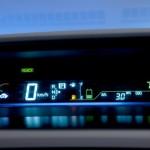 Prius v gauge display
