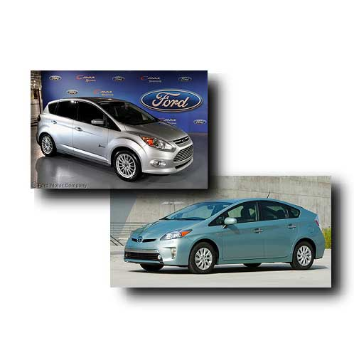 Ford C-MAX Energi vs Toyota Prius Plug-in