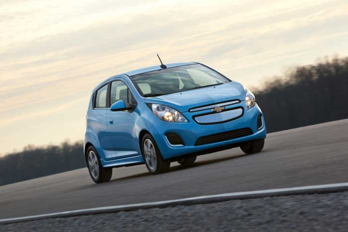 2014 Chevy Spark EV Preview