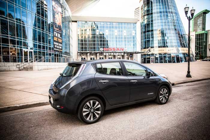 Nissan Leaf Sales Climbing