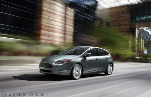 Ford Focus Electric Preview