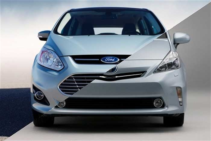 Ford C-MAX vs. Toyota Prius v – The C-MAX Is On Top