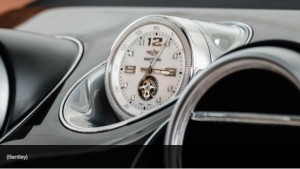 Bentley Breitling Clock